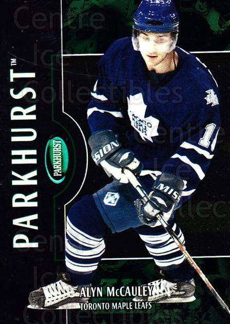 2002-03 Parkhurst #140 Alyn McCauley<br/>11 In Stock - $1.00 each - <a href=https://centericecollectibles.foxycart.com/cart?name=2002-03%20Parkhurst%20%23140%20Alyn%20McCauley...&quantity_max=11&price=$1.00&code=105769 class=foxycart> Buy it now! </a>