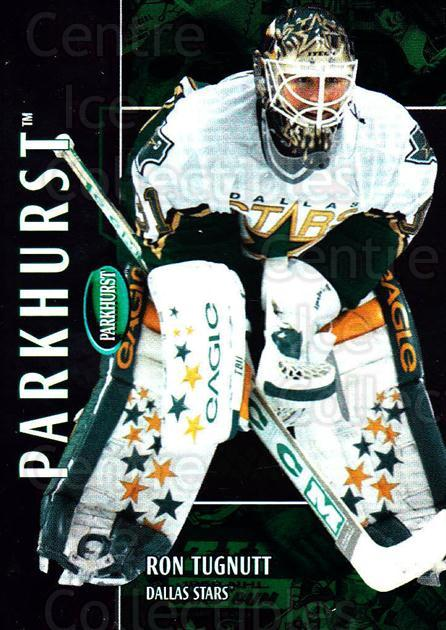 2002-03 Parkhurst #143 Ron Tugnutt<br/>5 In Stock - $1.00 each - <a href=https://centericecollectibles.foxycart.com/cart?name=2002-03%20Parkhurst%20%23143%20Ron%20Tugnutt...&quantity_max=5&price=$1.00&code=105772 class=foxycart> Buy it now! </a>
