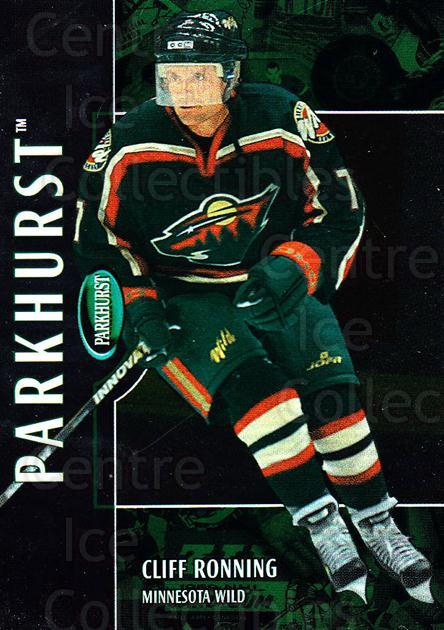 2002-03 Parkhurst #145 Cliff Ronning<br/>4 In Stock - $1.00 each - <a href=https://centericecollectibles.foxycart.com/cart?name=2002-03%20Parkhurst%20%23145%20Cliff%20Ronning...&quantity_max=4&price=$1.00&code=105774 class=foxycart> Buy it now! </a>