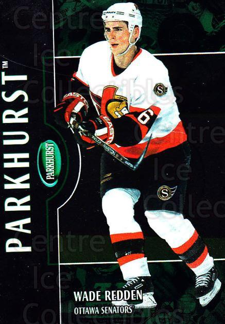 2002-03 Parkhurst #146 Wade Redden<br/>4 In Stock - $1.00 each - <a href=https://centericecollectibles.foxycart.com/cart?name=2002-03%20Parkhurst%20%23146%20Wade%20Redden...&quantity_max=4&price=$1.00&code=105775 class=foxycart> Buy it now! </a>