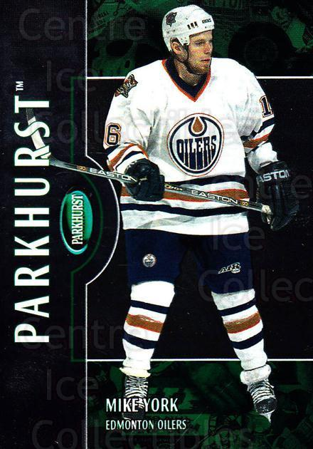 2002-03 Parkhurst #160 Mike York<br/>5 In Stock - $1.00 each - <a href=https://centericecollectibles.foxycart.com/cart?name=2002-03%20Parkhurst%20%23160%20Mike%20York...&quantity_max=5&price=$1.00&code=105788 class=foxycart> Buy it now! </a>