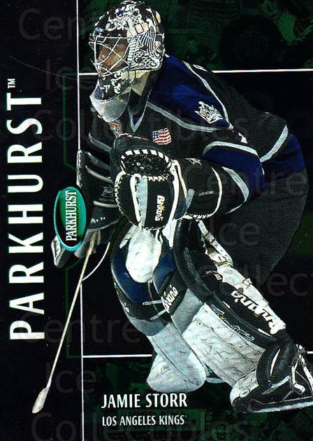 2002-03 Parkhurst #164 Jamie Storr<br/>5 In Stock - $1.00 each - <a href=https://centericecollectibles.foxycart.com/cart?name=2002-03%20Parkhurst%20%23164%20Jamie%20Storr...&quantity_max=5&price=$1.00&code=105792 class=foxycart> Buy it now! </a>