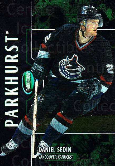 2002-03 Parkhurst #167 Daniel Sedin<br/>4 In Stock - $1.00 each - <a href=https://centericecollectibles.foxycart.com/cart?name=2002-03%20Parkhurst%20%23167%20Daniel%20Sedin...&price=$1.00&code=105795 class=foxycart> Buy it now! </a>