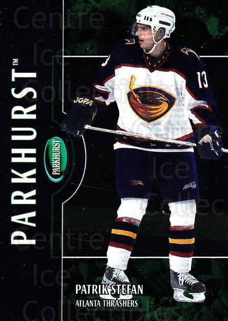 2002-03 Parkhurst #17 Patrik Stefan<br/>4 In Stock - $1.00 each - <a href=https://centericecollectibles.foxycart.com/cart?name=2002-03%20Parkhurst%20%2317%20Patrik%20Stefan...&quantity_max=4&price=$1.00&code=105798 class=foxycart> Buy it now! </a>