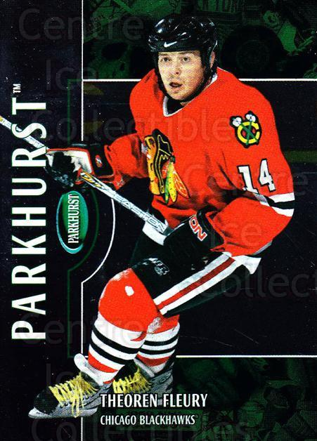 2002-03 Parkhurst #171 Theo Fleury<br/>4 In Stock - $1.00 each - <a href=https://centericecollectibles.foxycart.com/cart?name=2002-03%20Parkhurst%20%23171%20Theo%20Fleury...&quantity_max=4&price=$1.00&code=105800 class=foxycart> Buy it now! </a>