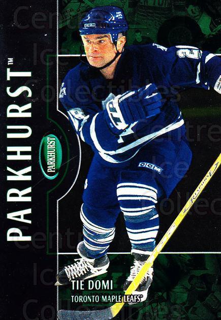 2002-03 Parkhurst #180 Tie Domi<br/>4 In Stock - $1.00 each - <a href=https://centericecollectibles.foxycart.com/cart?name=2002-03%20Parkhurst%20%23180%20Tie%20Domi...&quantity_max=4&price=$1.00&code=105809 class=foxycart> Buy it now! </a>