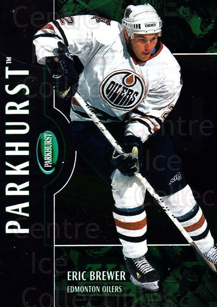 2002-03 Parkhurst #182 Eric Brewer<br/>4 In Stock - $1.00 each - <a href=https://centericecollectibles.foxycart.com/cart?name=2002-03%20Parkhurst%20%23182%20Eric%20Brewer...&quantity_max=4&price=$1.00&code=105811 class=foxycart> Buy it now! </a>