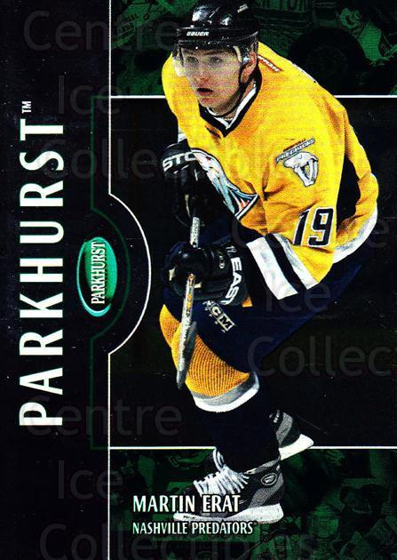 2002-03 Parkhurst #189 Martin Erat<br/>3 In Stock - $1.00 each - <a href=https://centericecollectibles.foxycart.com/cart?name=2002-03%20Parkhurst%20%23189%20Martin%20Erat...&quantity_max=3&price=$1.00&code=105818 class=foxycart> Buy it now! </a>
