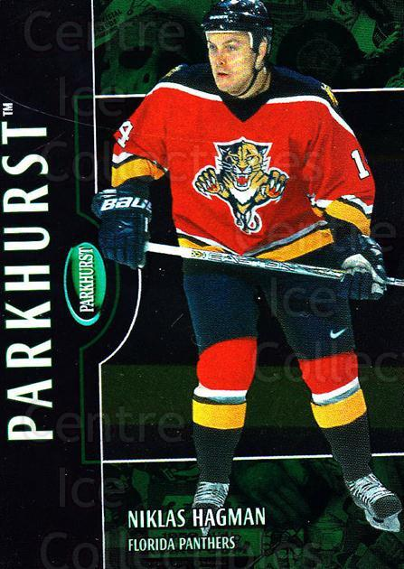 2002-03 Parkhurst #194 Niklas Hagman<br/>4 In Stock - $1.00 each - <a href=https://centericecollectibles.foxycart.com/cart?name=2002-03%20Parkhurst%20%23194%20Niklas%20Hagman...&quantity_max=4&price=$1.00&code=105824 class=foxycart> Buy it now! </a>
