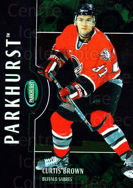 2002-03 Parkhurst #197 Curtis Brown<br/>4 In Stock - $1.00 each - <a href=https://centericecollectibles.foxycart.com/cart?name=2002-03%20Parkhurst%20%23197%20Curtis%20Brown...&quantity_max=4&price=$1.00&code=105827 class=foxycart> Buy it now! </a>