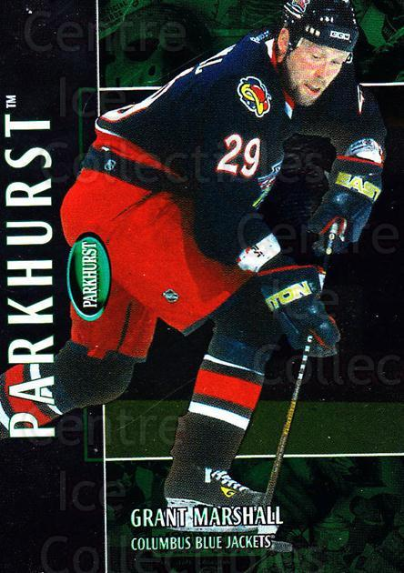 2002-03 Parkhurst #199 Grant Marshall<br/>4 In Stock - $1.00 each - <a href=https://centericecollectibles.foxycart.com/cart?name=2002-03%20Parkhurst%20%23199%20Grant%20Marshall...&quantity_max=4&price=$1.00&code=105829 class=foxycart> Buy it now! </a>