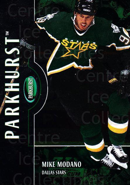 2002-03 Parkhurst #22 Mike Modano<br/>5 In Stock - $1.00 each - <a href=https://centericecollectibles.foxycart.com/cart?name=2002-03%20Parkhurst%20%2322%20Mike%20Modano...&quantity_max=5&price=$1.00&code=105839 class=foxycart> Buy it now! </a>