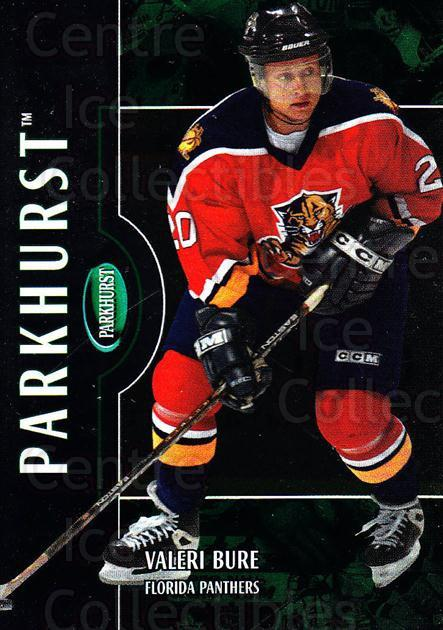 2002-03 Parkhurst #36 Valeri Bure<br/>3 In Stock - $1.00 each - <a href=https://centericecollectibles.foxycart.com/cart?name=2002-03%20Parkhurst%20%2336%20Valeri%20Bure...&quantity_max=3&price=$1.00&code=105857 class=foxycart> Buy it now! </a>