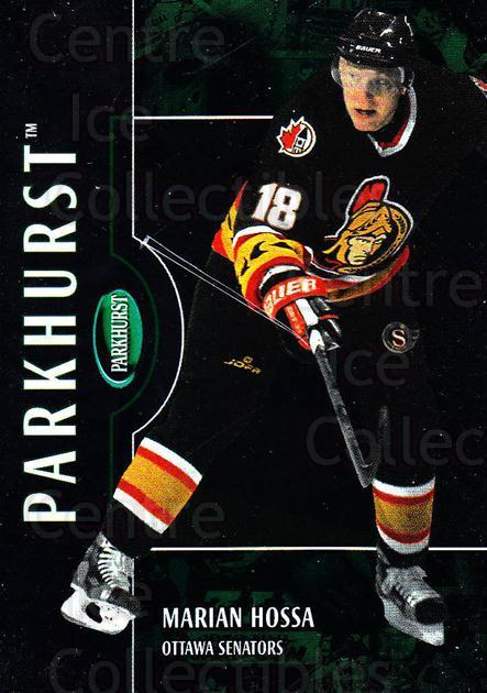 2002-03 Parkhurst #37 Marian Hossa<br/>3 In Stock - $1.00 each - <a href=https://centericecollectibles.foxycart.com/cart?name=2002-03%20Parkhurst%20%2337%20Marian%20Hossa...&quantity_max=3&price=$1.00&code=105858 class=foxycart> Buy it now! </a>