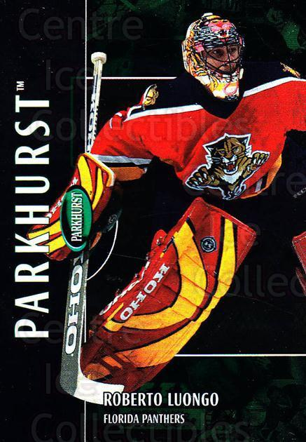2002-03 Parkhurst #47 Roberto Luongo<br/>4 In Stock - $1.00 each - <a href=https://centericecollectibles.foxycart.com/cart?name=2002-03%20Parkhurst%20%2347%20Roberto%20Luongo...&quantity_max=4&price=$1.00&code=105869 class=foxycart> Buy it now! </a>