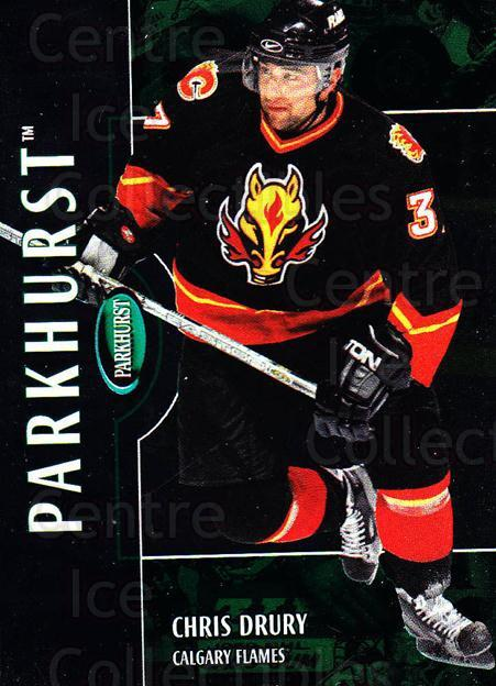 2002-03 Parkhurst #49 Chris Drury<br/>9 In Stock - $1.00 each - <a href=https://centericecollectibles.foxycart.com/cart?name=2002-03%20Parkhurst%20%2349%20Chris%20Drury...&quantity_max=9&price=$1.00&code=105871 class=foxycart> Buy it now! </a>