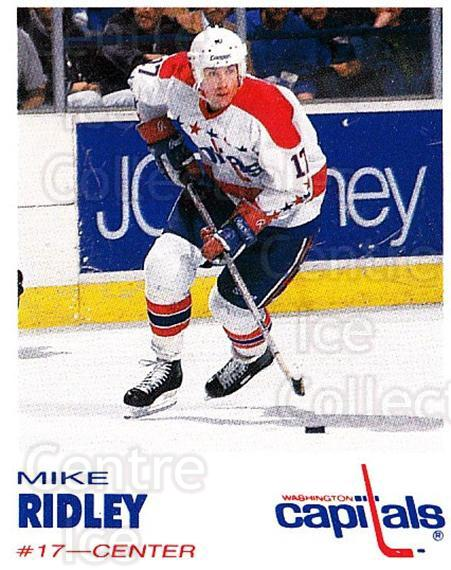 1992-93 Washington Capitals Kodak #23 Mike Ridley<br/>6 In Stock - $3.00 each - <a href=https://centericecollectibles.foxycart.com/cart?name=1992-93%20Washington%20Capitals%20Kodak%20%2323%20Mike%20Ridley...&quantity_max=6&price=$3.00&code=10614 class=foxycart> Buy it now! </a>