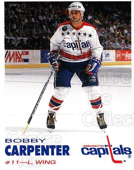 1992-93 Washington Capitals Kodak #5 Bob Carpenter<br/>6 In Stock - $3.00 each - <a href=https://centericecollectibles.foxycart.com/cart?name=1992-93%20Washington%20Capitals%20Kodak%20%235%20Bob%20Carpenter...&quantity_max=6&price=$3.00&code=10617 class=foxycart> Buy it now! </a>