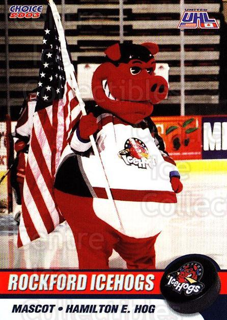 2002-03 Rockford Ice Hogs #23 Mascot<br/>8 In Stock - $3.00 each - <a href=https://centericecollectibles.foxycart.com/cart?name=2002-03%20Rockford%20Ice%20Hogs%20%2323%20Mascot...&quantity_max=8&price=$3.00&code=106194 class=foxycart> Buy it now! </a>
