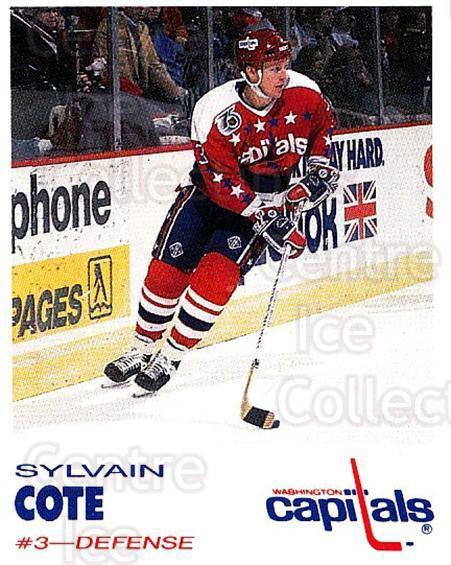 1992-93 Washington Capitals Kodak #7 Sylvain Cote<br/>7 In Stock - $3.00 each - <a href=https://centericecollectibles.foxycart.com/cart?name=1992-93%20Washington%20Capitals%20Kodak%20%237%20Sylvain%20Cote...&quantity_max=7&price=$3.00&code=10619 class=foxycart> Buy it now! </a>