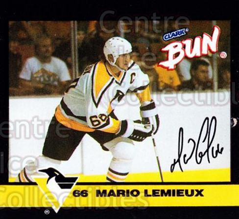 1992-93 Clark Candy Mario Lemieux #1 Mario Lemieux<br/>1 In Stock - $3.00 each - <a href=https://centericecollectibles.foxycart.com/cart?name=1992-93%20Clark%20Candy%20Mario%20Lemieux%20%231%20Mario%20Lemieux...&price=$3.00&code=10644 class=foxycart> Buy it now! </a>