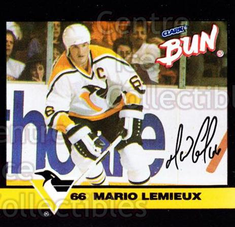 1992-93 Clark Candy Mario Lemieux #2 Mario Lemieux<br/>2 In Stock - $3.00 each - <a href=https://centericecollectibles.foxycart.com/cart?name=1992-93%20Clark%20Candy%20Mario%20Lemieux%20%232%20Mario%20Lemieux...&price=$3.00&code=10645 class=foxycart> Buy it now! </a>