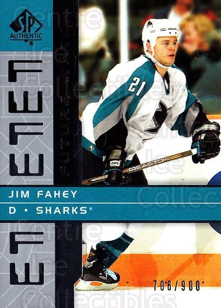 2002-03 SP Authentic #169 Jim Fahey<br/>1 In Stock - $5.00 each - <a href=https://centericecollectibles.foxycart.com/cart?name=2002-03%20SP%20Authentic%20%23169%20Jim%20Fahey...&quantity_max=1&price=$5.00&code=106514 class=foxycart> Buy it now! </a>