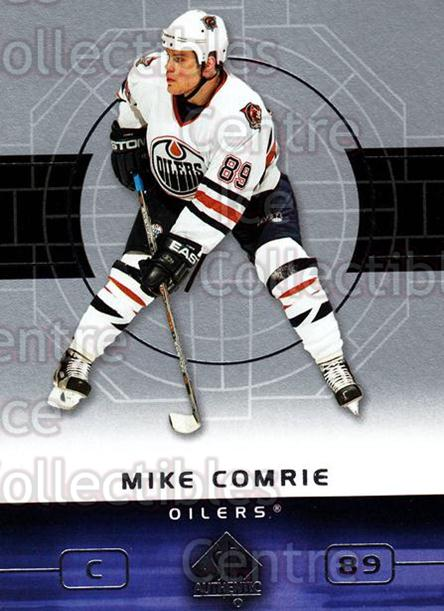 2002-03 SP Authentic #37 Mike Comrie<br/>9 In Stock - $1.00 each - <a href=https://centericecollectibles.foxycart.com/cart?name=2002-03%20SP%20Authentic%20%2337%20Mike%20Comrie...&quantity_max=9&price=$1.00&code=106544 class=foxycart> Buy it now! </a>