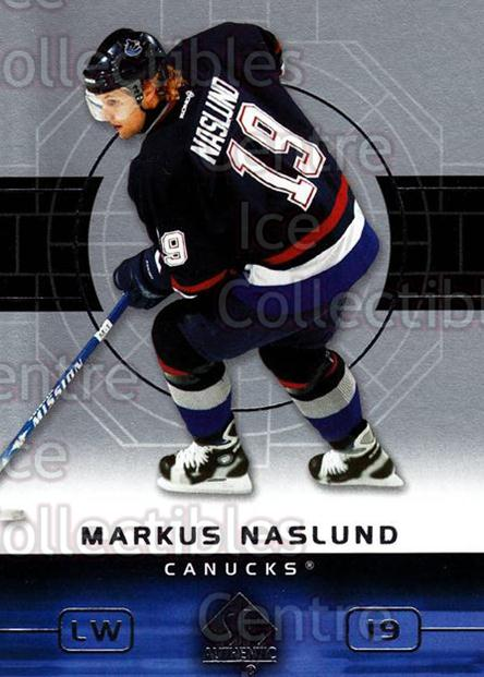 2002-03 SP Authentic #85 Markus Naslund<br/>9 In Stock - $1.00 each - <a href=https://centericecollectibles.foxycart.com/cart?name=2002-03%20SP%20Authentic%20%2385%20Markus%20Naslund...&quantity_max=9&price=$1.00&code=106596 class=foxycart> Buy it now! </a>