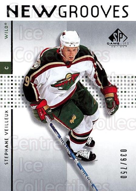 2002-03 SP Game Used #100 Stephane Veilleux<br/>5 In Stock - $5.00 each - <a href=https://centericecollectibles.foxycart.com/cart?name=2002-03%20SP%20Game%20Used%20%23100%20Stephane%20Veille...&quantity_max=5&price=$5.00&code=106608 class=foxycart> Buy it now! </a>