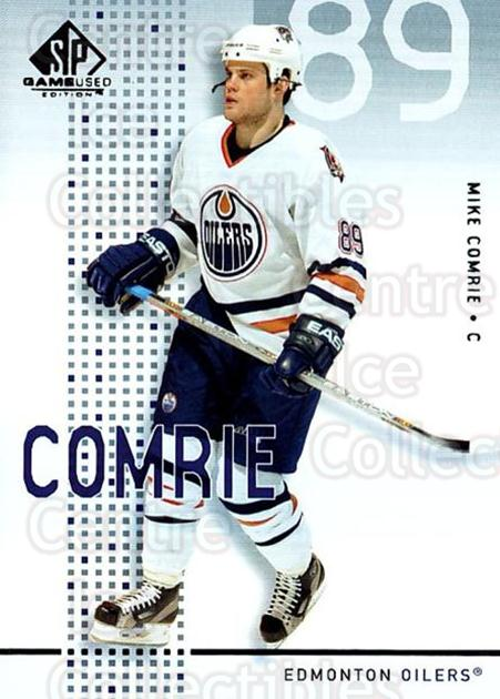 2002-03 SP Game Used #20 Mike Comrie<br/>10 In Stock - $2.00 each - <a href=https://centericecollectibles.foxycart.com/cart?name=2002-03%20SP%20Game%20Used%20%2320%20Mike%20Comrie...&quantity_max=10&price=$2.00&code=106615 class=foxycart> Buy it now! </a>