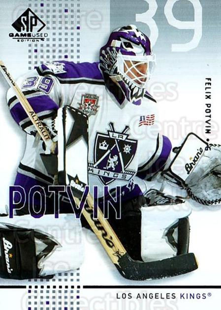 2002-03 SP Game Used #22 Felix Potvin<br/>2 In Stock - $2.00 each - <a href=https://centericecollectibles.foxycart.com/cart?name=2002-03%20SP%20Game%20Used%20%2322%20Felix%20Potvin...&quantity_max=2&price=$2.00&code=106617 class=foxycart> Buy it now! </a>