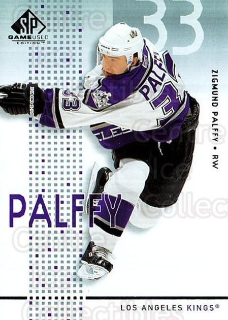 2002-03 SP Game Used #23 Zigmund Palffy<br/>6 In Stock - $2.00 each - <a href=https://centericecollectibles.foxycart.com/cart?name=2002-03%20SP%20Game%20Used%20%2323%20Zigmund%20Palffy...&quantity_max=6&price=$2.00&code=106618 class=foxycart> Buy it now! </a>