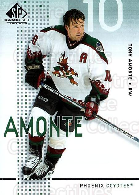 2002-03 SP Game Used #39 Tony Amonte<br/>4 In Stock - $2.00 each - <a href=https://centericecollectibles.foxycart.com/cart?name=2002-03%20SP%20Game%20Used%20%2339%20Tony%20Amonte...&quantity_max=4&price=$2.00&code=106630 class=foxycart> Buy it now! </a>