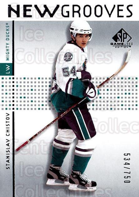 2002-03 SP Game Used #67 Stanislav Chistov<br/>3 In Stock - $5.00 each - <a href=https://centericecollectibles.foxycart.com/cart?name=2002-03%20SP%20Game%20Used%20%2367%20Stanislav%20Chist...&quantity_max=3&price=$5.00&code=106645 class=foxycart> Buy it now! </a>