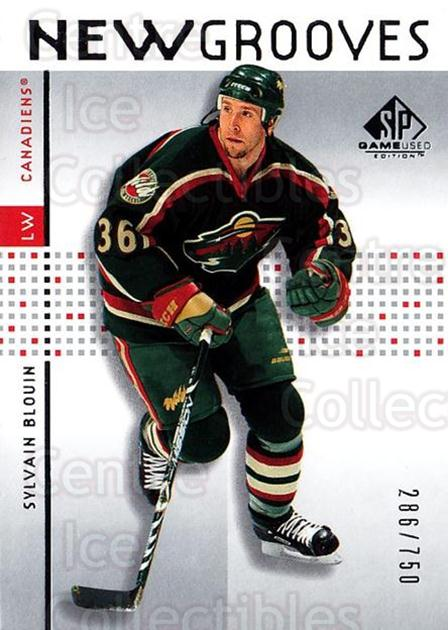 2002-03 SP Game Used #80 Sylvain Blouin<br/>5 In Stock - $5.00 each - <a href=https://centericecollectibles.foxycart.com/cart?name=2002-03%20SP%20Game%20Used%20%2380%20Sylvain%20Blouin...&quantity_max=5&price=$5.00&code=106652 class=foxycart> Buy it now! </a>