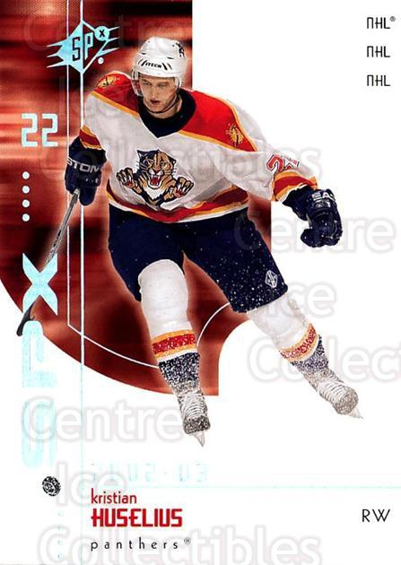 2002-03 SPx #35 Kristian Huselius<br/>5 In Stock - $1.00 each - <a href=https://centericecollectibles.foxycart.com/cart?name=2002-03%20SPx%20%2335%20Kristian%20Huseli...&quantity_max=5&price=$1.00&code=106792 class=foxycart> Buy it now! </a>