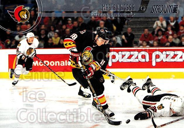 2002-03 Stadium Club Silver Decoy Cards #61 Marian Hossa<br/>3 In Stock - $2.00 each - <a href=https://centericecollectibles.foxycart.com/cart?name=2002-03%20Stadium%20Club%20Silver%20Decoy%20Cards%20%2361%20Marian%20Hossa...&quantity_max=3&price=$2.00&code=106920 class=foxycart> Buy it now! </a>
