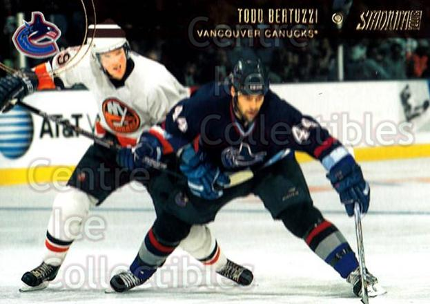 2002-03 Stadium Club #50 Todd Bertuzzi<br/>9 In Stock - $1.00 each - <a href=https://centericecollectibles.foxycart.com/cart?name=2002-03%20Stadium%20Club%20%2350%20Todd%20Bertuzzi...&quantity_max=9&price=$1.00&code=107031 class=foxycart> Buy it now! </a>