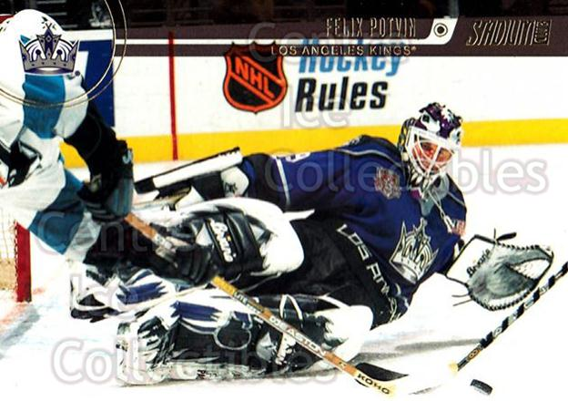 2002-03 Stadium Club #97 Felix Potvin<br/>3 In Stock - $1.00 each - <a href=https://centericecollectibles.foxycart.com/cart?name=2002-03%20Stadium%20Club%20%2397%20Felix%20Potvin...&quantity_max=3&price=$1.00&code=107081 class=foxycart> Buy it now! </a>
