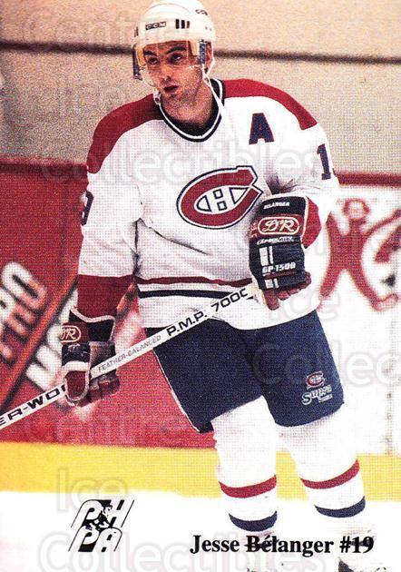 1992-93 Fredericton Canadiens #1 Jesse Belanger<br/>1 In Stock - $3.00 each - <a href=https://centericecollectibles.foxycart.com/cart?name=1992-93%20Fredericton%20Canadiens%20%231%20Jesse%20Belanger...&quantity_max=1&price=$3.00&code=10753 class=foxycart> Buy it now! </a>