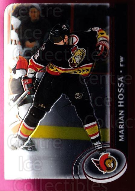 2002-03 Topps Chrome #113 Marian Hossa<br/>7 In Stock - $1.00 each - <a href=https://centericecollectibles.foxycart.com/cart?name=2002-03%20Topps%20Chrome%20%23113%20Marian%20Hossa...&quantity_max=7&price=$1.00&code=107619 class=foxycart> Buy it now! </a>