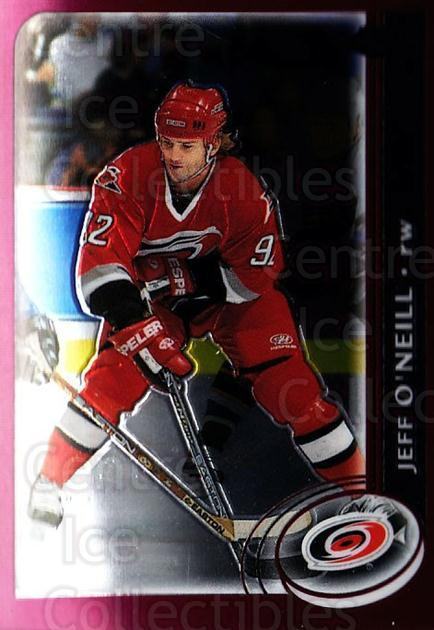 2002-03 Topps Chrome #141 Jeff O'Neill<br/>9 In Stock - $1.00 each - <a href=https://centericecollectibles.foxycart.com/cart?name=2002-03%20Topps%20Chrome%20%23141%20Jeff%20O'Neill...&quantity_max=9&price=$1.00&code=107649 class=foxycart> Buy it now! </a>