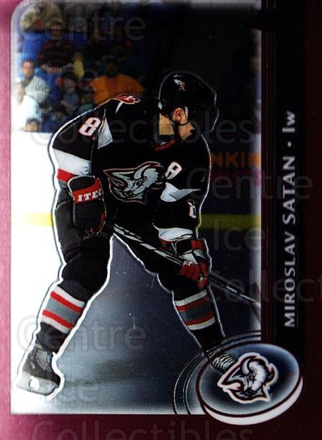 2002-03 Topps Chrome #20 Miroslav Satan<br/>4 In Stock - $1.00 each - <a href=https://centericecollectibles.foxycart.com/cart?name=2002-03%20Topps%20Chrome%20%2320%20Miroslav%20Satan...&quantity_max=4&price=$1.00&code=107686 class=foxycart> Buy it now! </a>