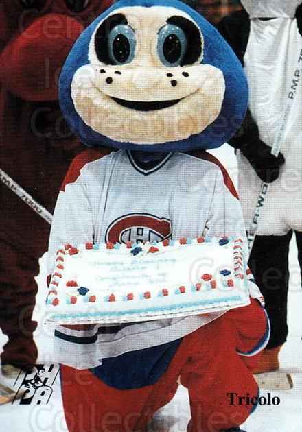 1992-93 Fredericton Canadiens #28 Mascot<br/>5 In Stock - $3.00 each - <a href=https://centericecollectibles.foxycart.com/cart?name=1992-93%20Fredericton%20Canadiens%20%2328%20Mascot...&quantity_max=5&price=$3.00&code=10768 class=foxycart> Buy it now! </a>
