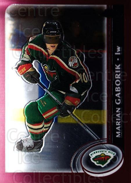 2002-03 Topps Chrome #26 Marian Gaborik<br/>6 In Stock - $1.00 each - <a href=https://centericecollectibles.foxycart.com/cart?name=2002-03%20Topps%20Chrome%20%2326%20Marian%20Gaborik...&quantity_max=6&price=$1.00&code=107692 class=foxycart> Buy it now! </a>