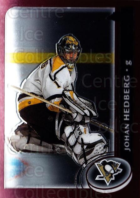 2002-03 Topps Chrome #67 Johan Hedberg<br/>4 In Stock - $1.00 each - <a href=https://centericecollectibles.foxycart.com/cart?name=2002-03%20Topps%20Chrome%20%2367%20Johan%20Hedberg...&quantity_max=4&price=$1.00&code=107727 class=foxycart> Buy it now! </a>