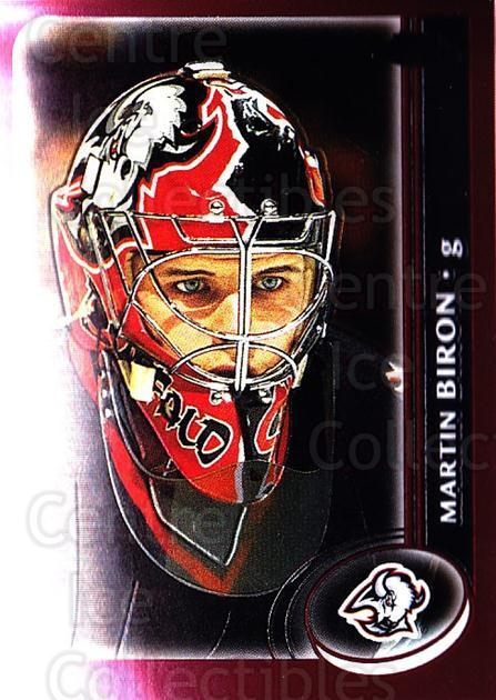 2002-03 Topps Chrome #74 Martin Biron<br/>4 In Stock - $1.00 each - <a href=https://centericecollectibles.foxycart.com/cart?name=2002-03%20Topps%20Chrome%20%2374%20Martin%20Biron...&quantity_max=4&price=$1.00&code=107734 class=foxycart> Buy it now! </a>