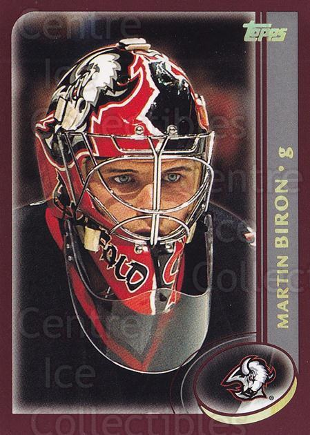 2002-03 Topps Factory #115 Martin Biron<br/>5 In Stock - $1.00 each - <a href=https://centericecollectibles.foxycart.com/cart?name=2002-03%20Topps%20Factory%20%23115%20Martin%20Biron...&quantity_max=5&price=$1.00&code=107799 class=foxycart> Buy it now! </a>