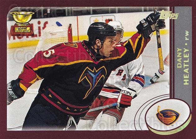 2002-03 Topps Factory #205 Dany Heatley<br/>6 In Stock - $1.00 each - <a href=https://centericecollectibles.foxycart.com/cart?name=2002-03%20Topps%20Factory%20%23205%20Dany%20Heatley...&quantity_max=6&price=$1.00&code=107894 class=foxycart> Buy it now! </a>